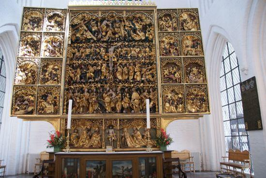 Altertavle Domkirken i Odenses