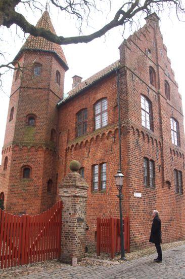 Renæssancebygningen Taarnborg i Ribe