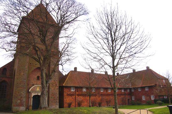 Sct. Chatrinæ Kirke og Kloster i Ribe