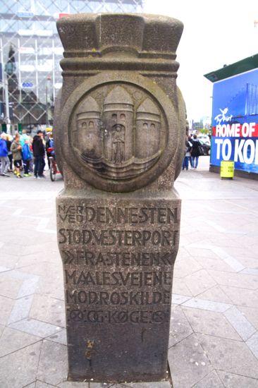 Nul-kilometerstenen i København